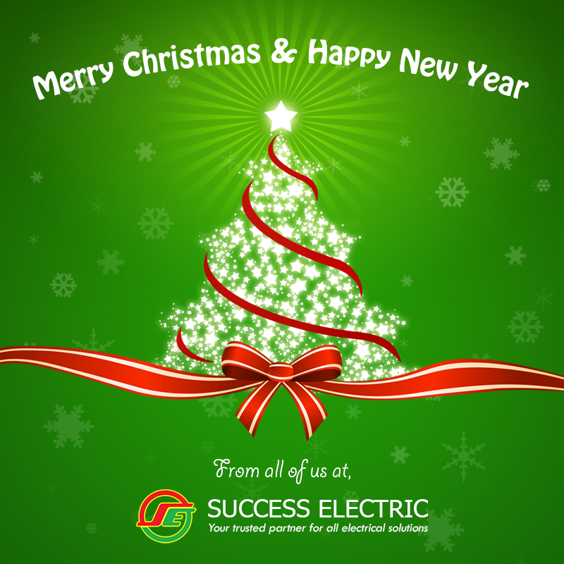Success Electric Merry Christmas & Happy New Year