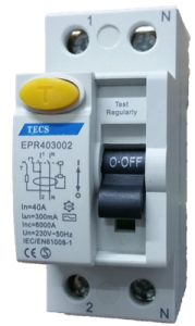 Terasaki Residual Current Circuit Breaker 2 Pole
